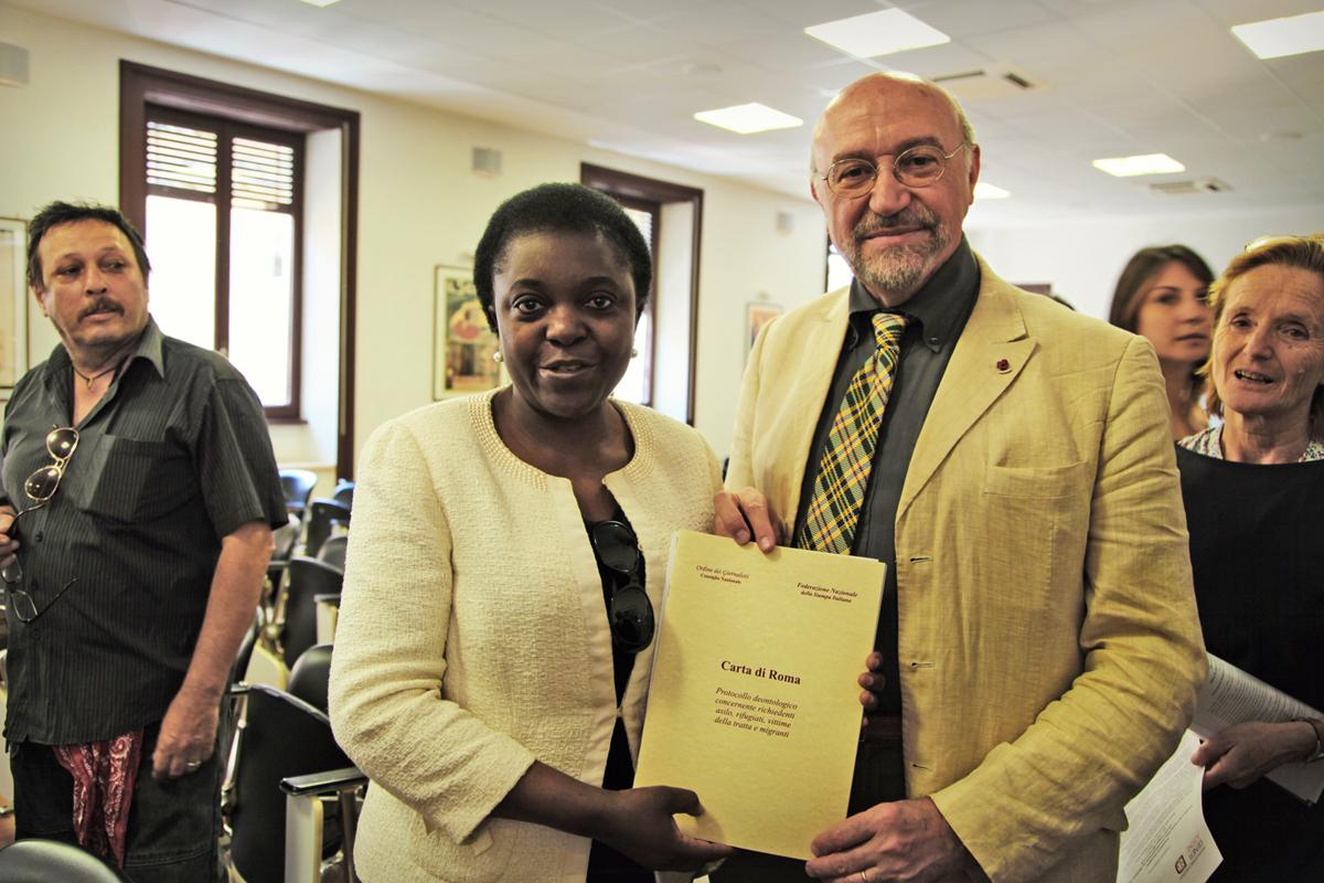 La Ministra Kyenge e Carta di Roma