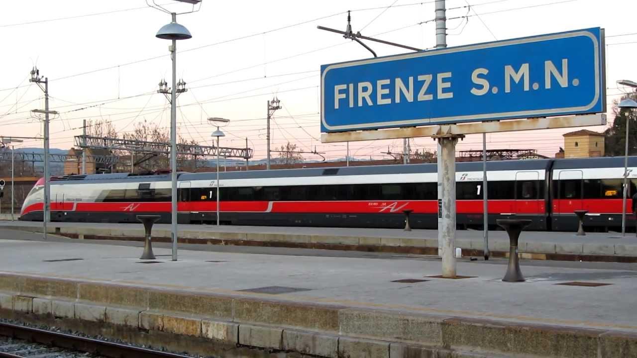 I media sui rom alla stazione di Firenze. Assente la loro voce