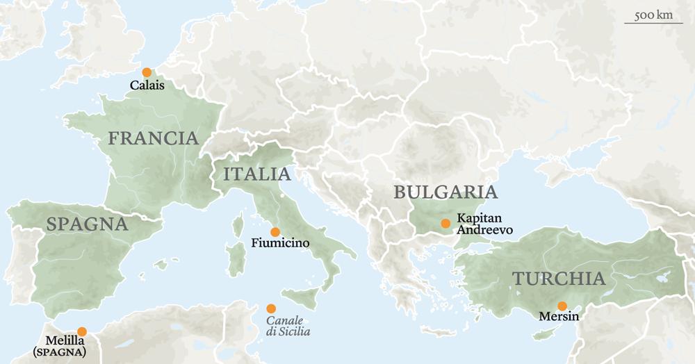 Borderline. Su Internazionale il viaggio di Stefano Liberti ai confini della Fortezza Europa