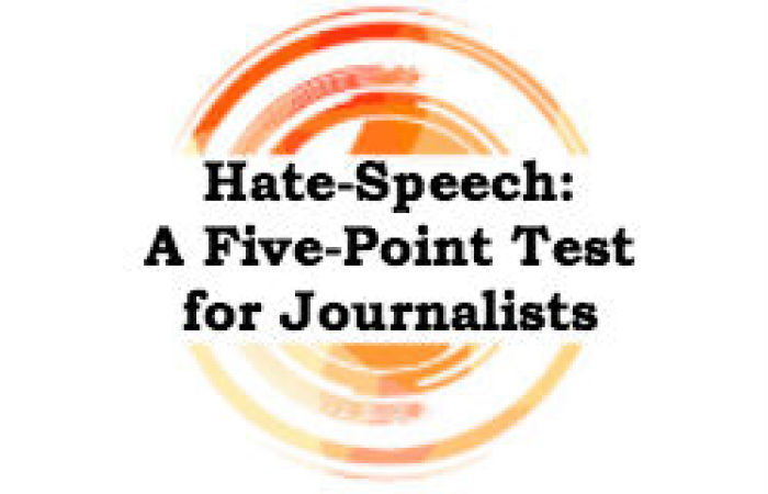 hate speech test