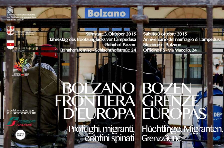 3 ottobre, Bolzano frontiera d'Europa