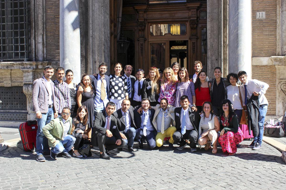 Giovani rom in Senato: