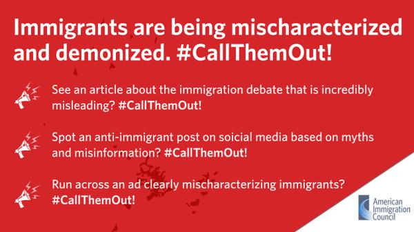 #CallThemOut. La campagna contro gli stereotipi sui migranti