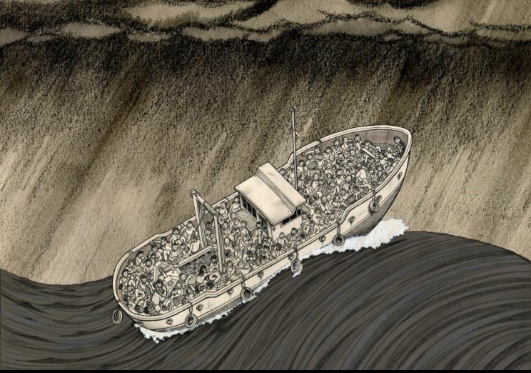 Il giornalismo grafico che aiuta a umanizzare l'immigrazione