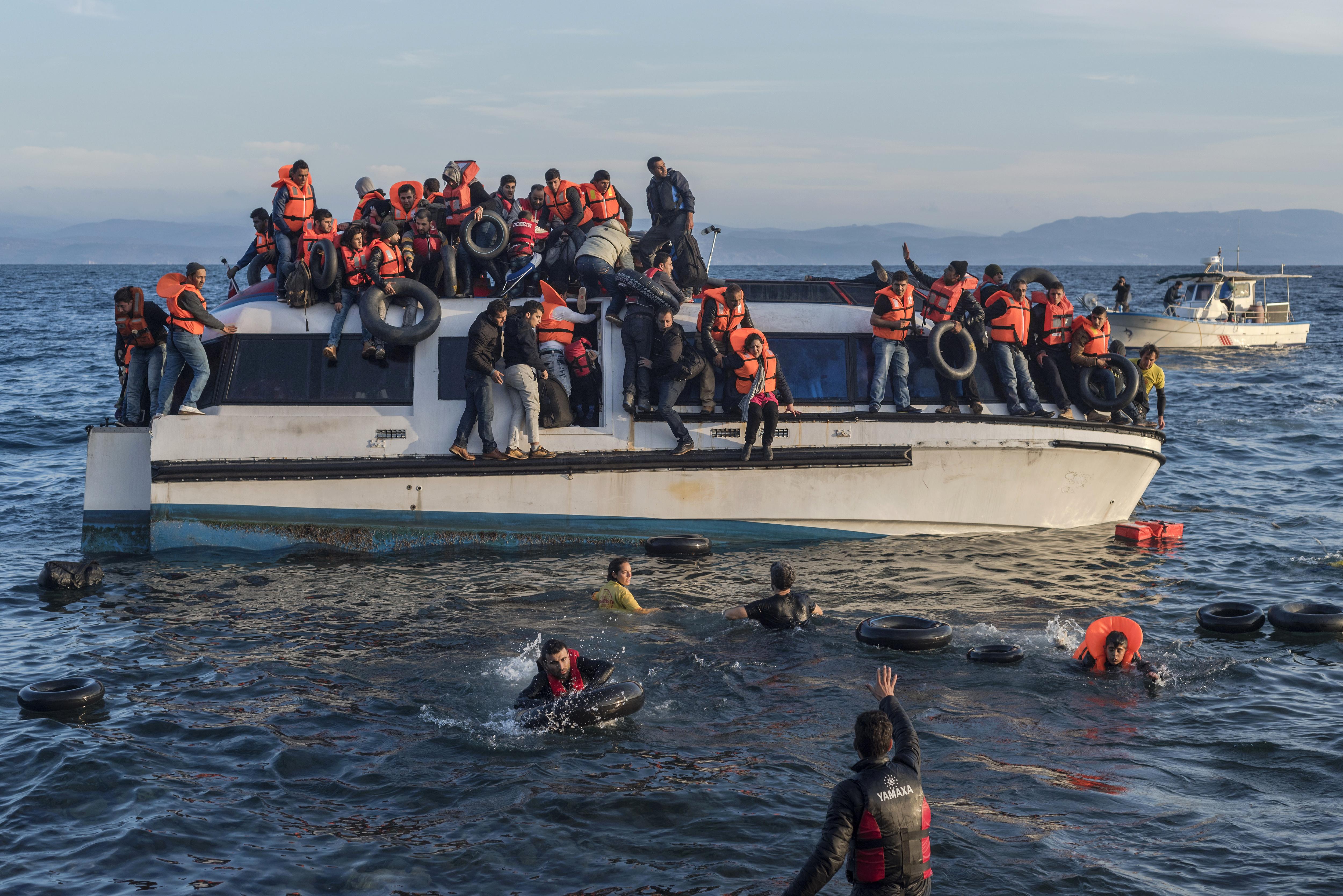 lesvos grecia rifugiati