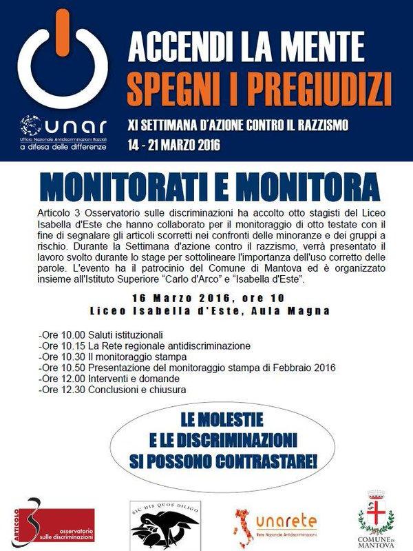 articolo 3 monitorati e monitora