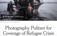Pulitzer a New York Times e Reuters per gli scatti che immortalano la crisi rifugiati