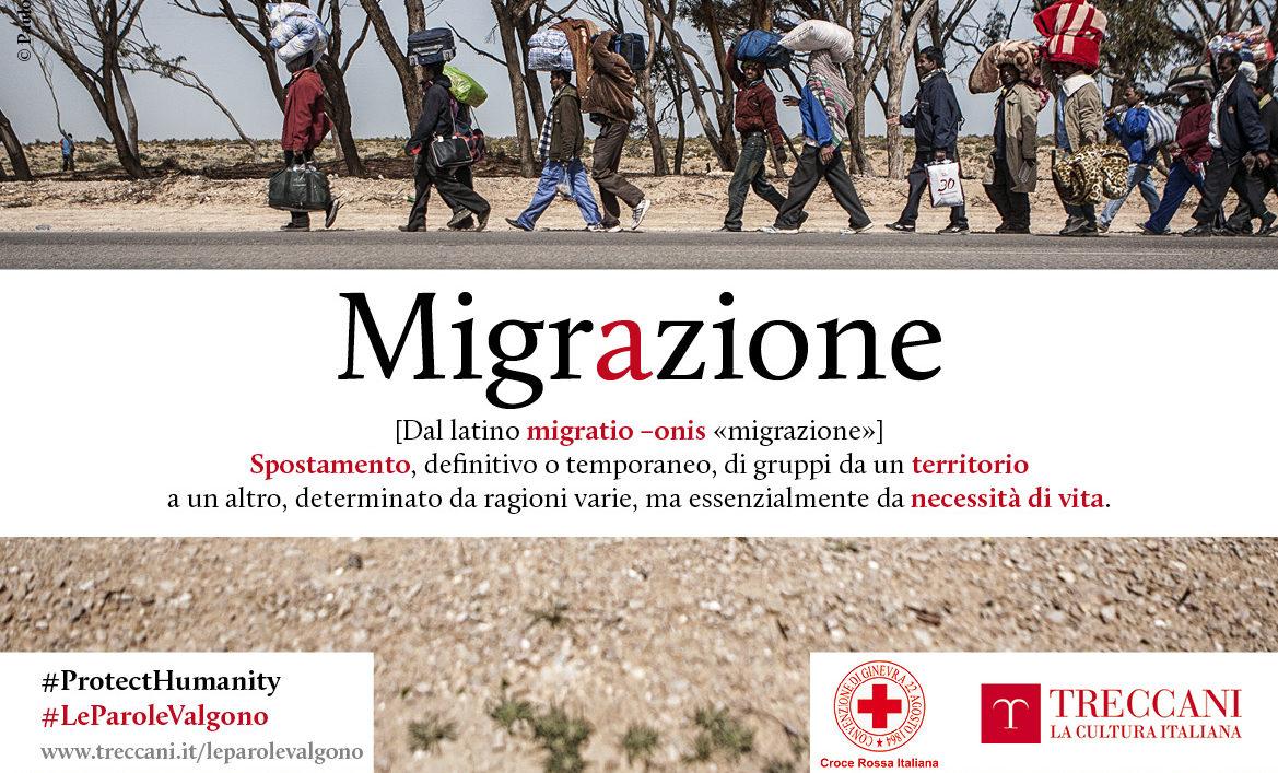 Migrazione: la comprensione passa per le parole