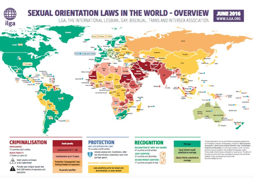 lgbt criminalizzazione