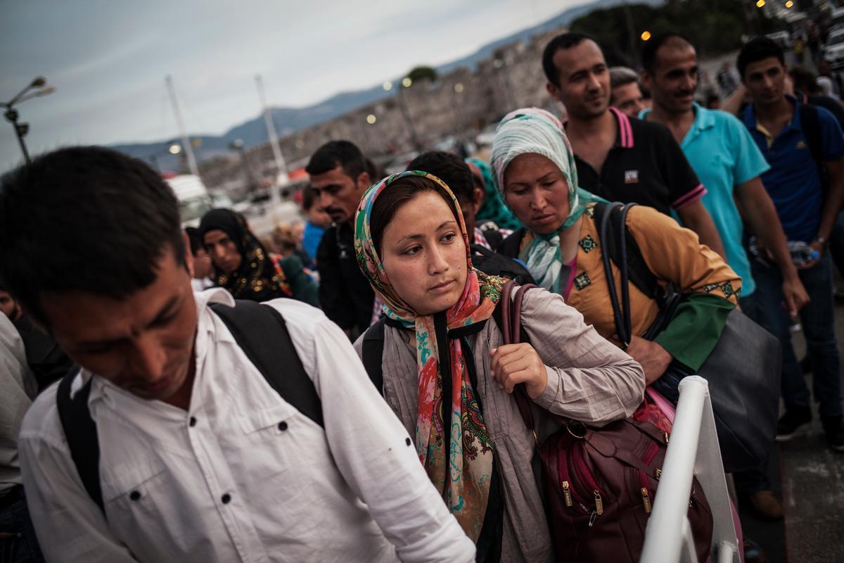 Finora è stato ricollocato meno del 2% del totale delle quote previste. I posti a disposizione per le ricollocazione dall'Italia sono solo il 7% di quelli richiesti. Foto UNHCR/S.Baltaggiannis