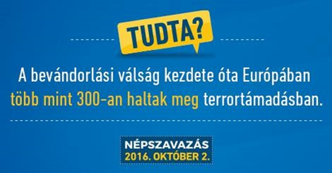 """Uno dei cartelloni affissi nell'ambito della campagna """"Sapevate che..."""", in vista del referendum del 2 ottobre."""