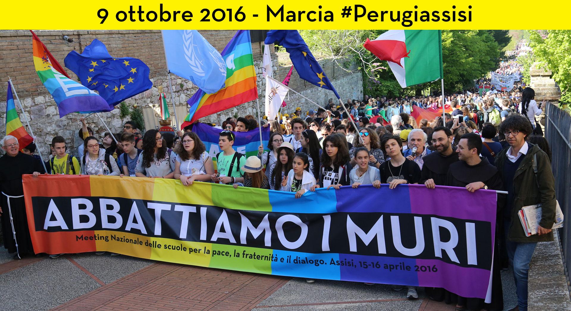 Marcia per la pace Perugia-Assisi, 9 ottobre