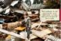 Un allestimento mostra una casa nella Siria in guerra