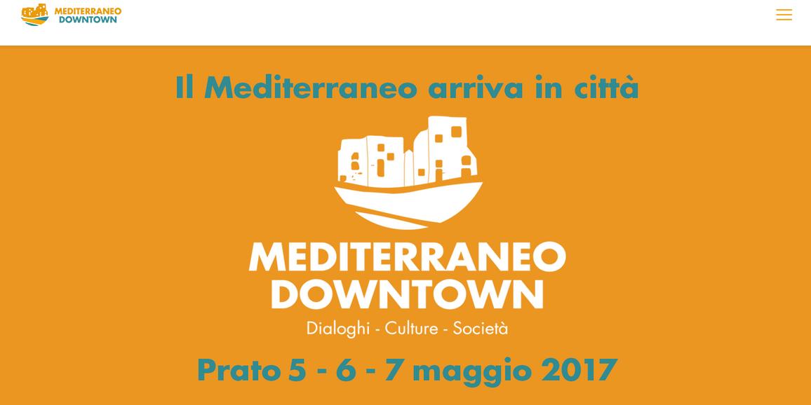 Dal 5 al 7 maggio Mediterraneo Downtown a Prato