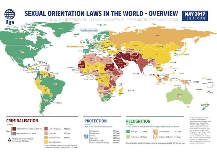 Percentuale Gay Per Nazione