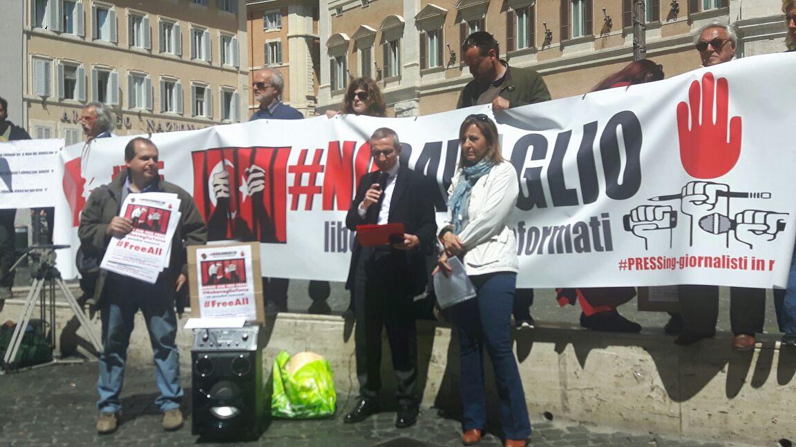 Lotta al precariato, querele temerarie e minacce: il 24 maggio la Fnsi in piazza di Montecitorio