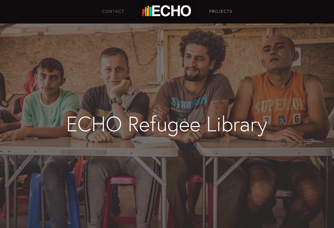 Echo refugee library: un minivan carico di libri in viaggio per la Grecia