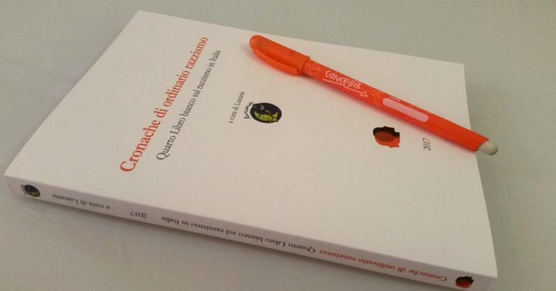 Quarto libro bianco sul razzismo in Italia: 1483 casi in meno di due anni