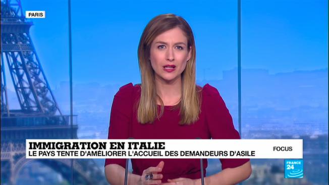 Il canale France24 cita l'Italia come esempio virtuoso di accoglienza