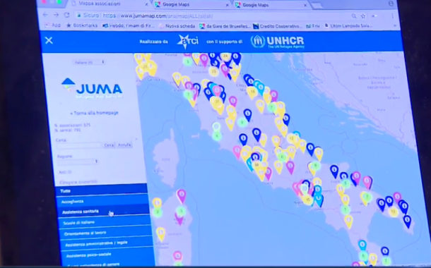 È attivo un nuovo portale che mappa i servizi rivolti ai richiedenti asilo sul territorio nazionale