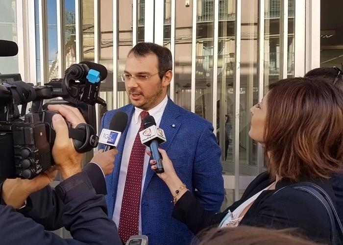 Conferenza stampa in Fnsi per solidarietà al giornalista Paolo Borrometi minacciato dalla mafia