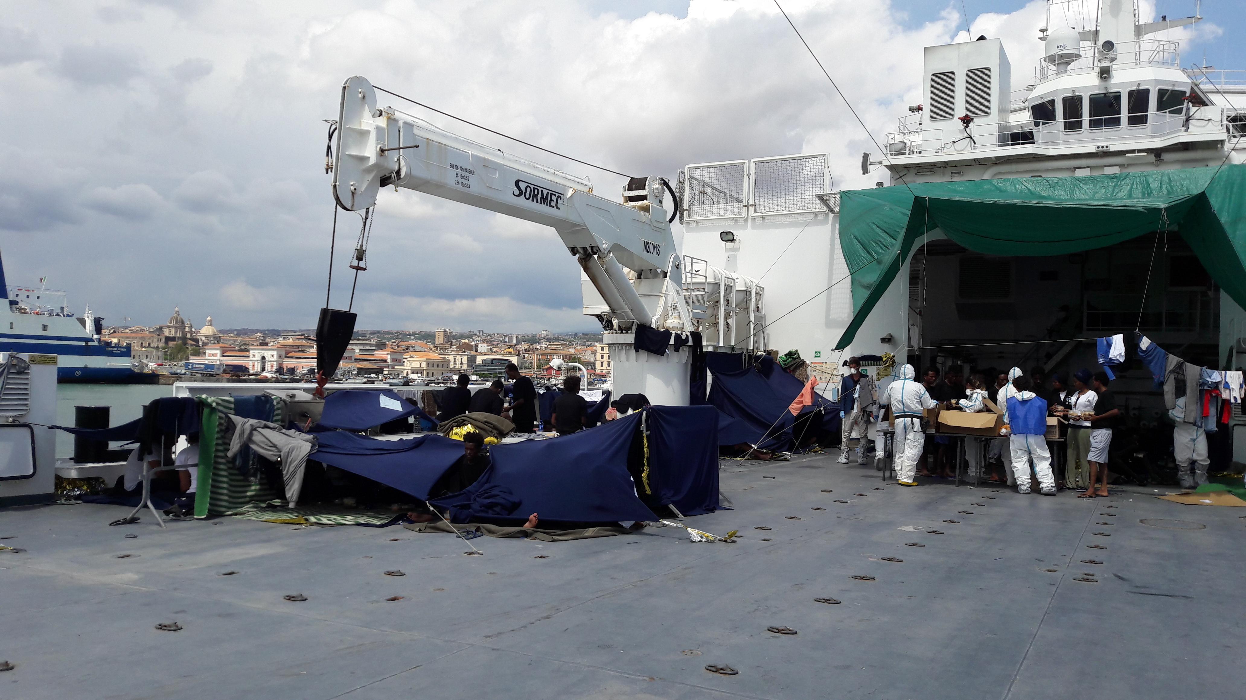 Nave Diciotti: il Garante Nazionale delle persone private della libertà invia due informative alle Procure di Catania e Agrigento