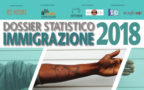 Dati e numeri reali dell'immigrazione nel 2018 nel nuovo Dossier Statistico Immigrazione
