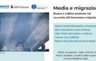 Il 18 settembre ad Aosta per un incontro su Media e Migrazioni