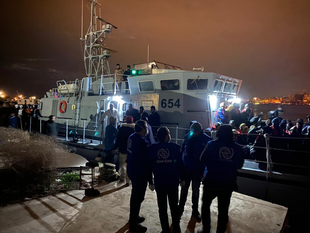 Appello dell'OIM alla comunità internazionale: agire con urgenza per trovare alternative agli sbarchi in Libia
