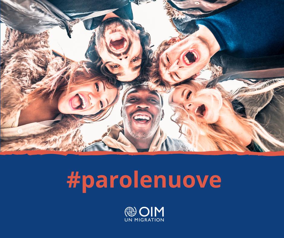 L'OIM lancia in Italia la campagna #ParoleNuove