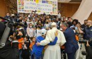 Udienza. Il Centro Mondo Migliore dal Papa: «Noi,