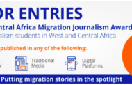 2021 West and Central Africa Migration Journalism Award